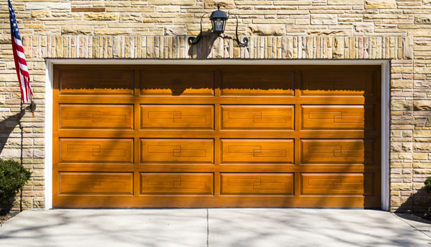 Wooden garage door Buffalo