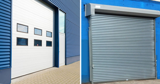 Overhead door vs Rolling Gate